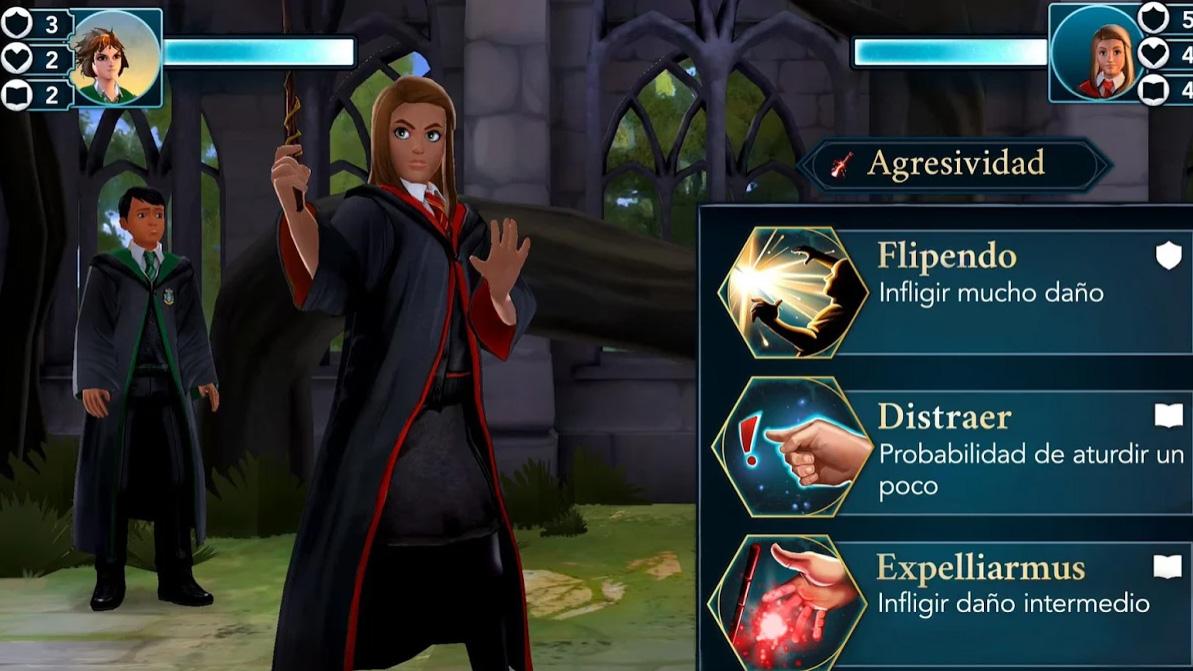 Hogwarts Mystery duelos