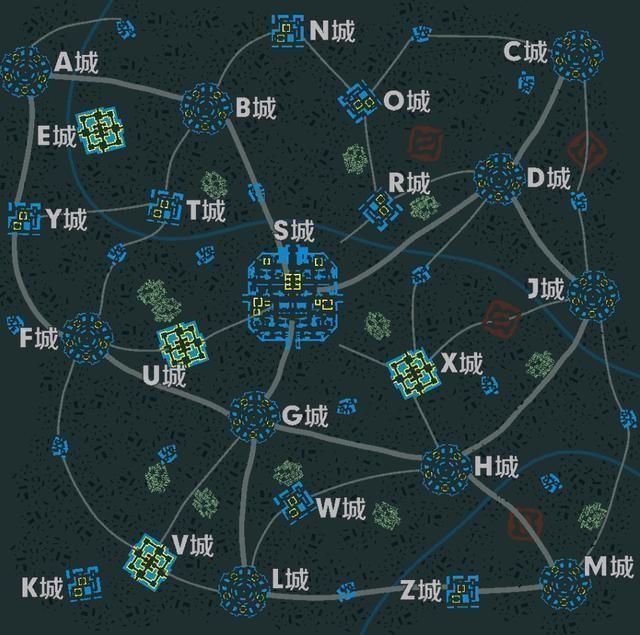 Mapa de Arena of Valor Battle Royale