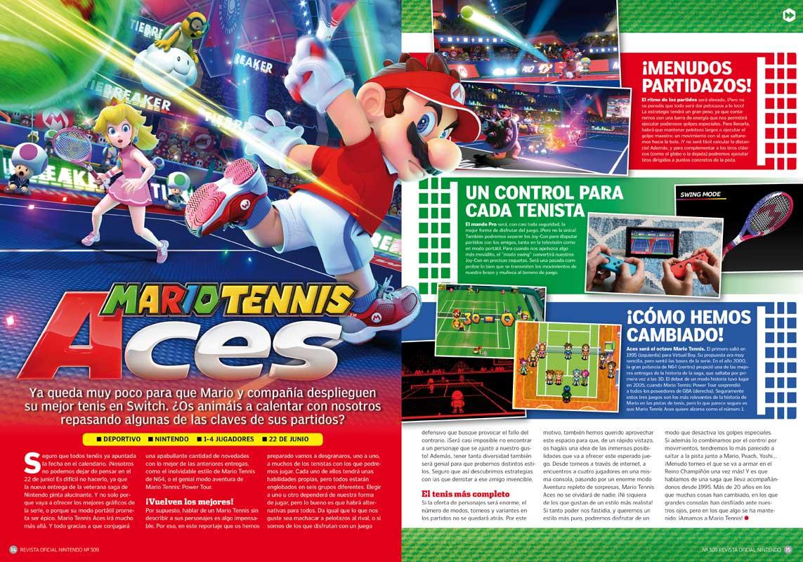 Mario Tennis Aces RON 309