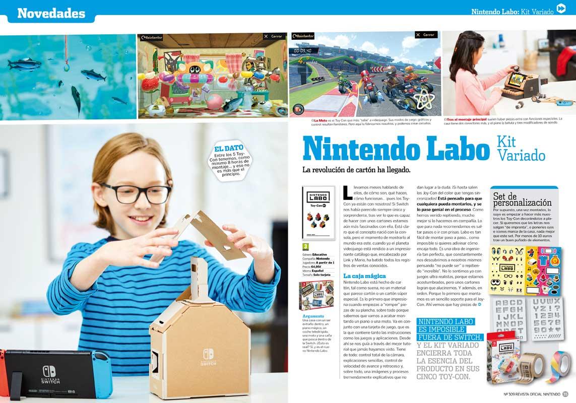 Nintendo Labo RON 309