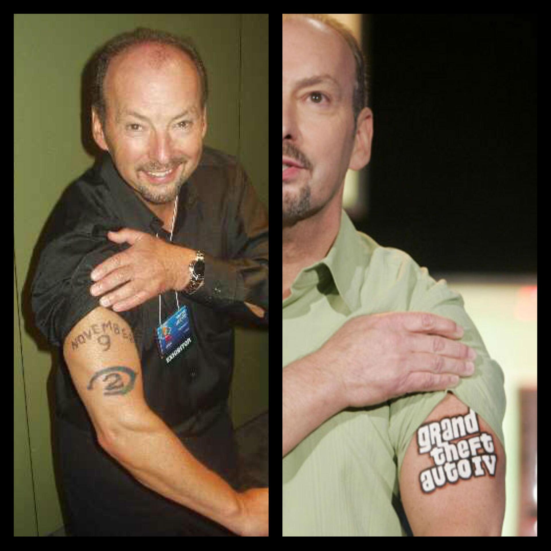 Peter Moore E3 tatuaje