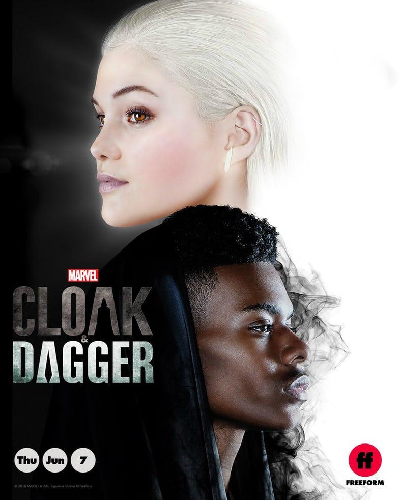 Cloak & Dagger póster