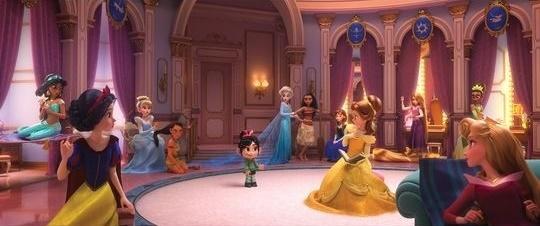 Rompe Ralph 2 princesas Disney