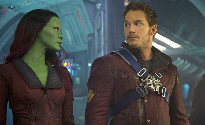 Star-Lord y Gamora