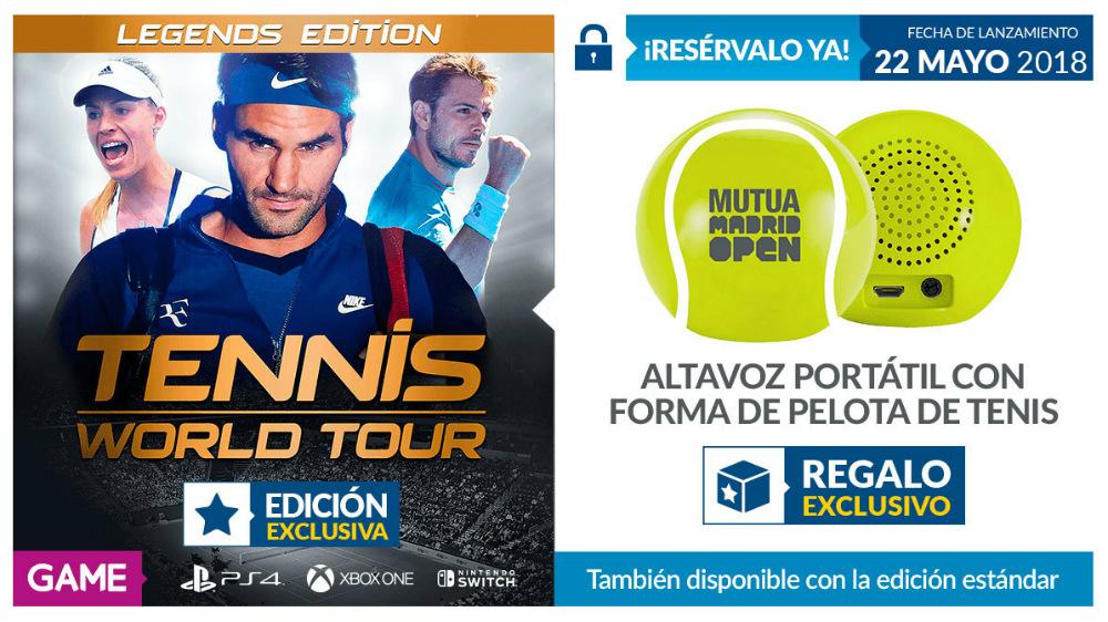 Tennis World Tour en GAME
