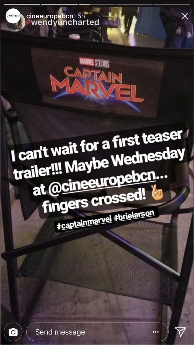 Capitana Marvel rumor tráiler