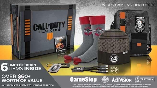CoD Black Ops IIII - Edición Coleccionista sin juego