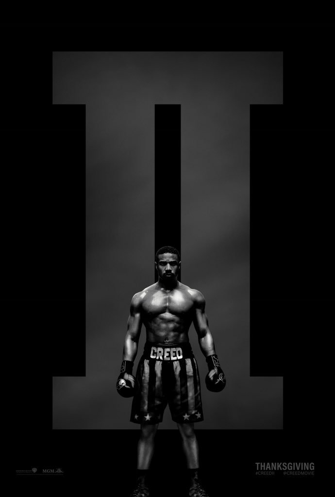 Creed 2 póster