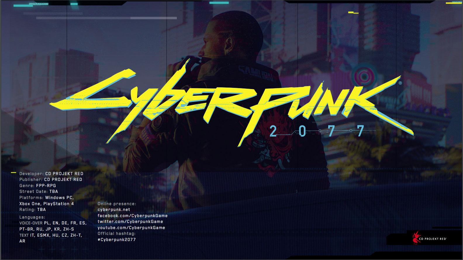 Cyberpunk 2077 apunta a esta generación de consolas