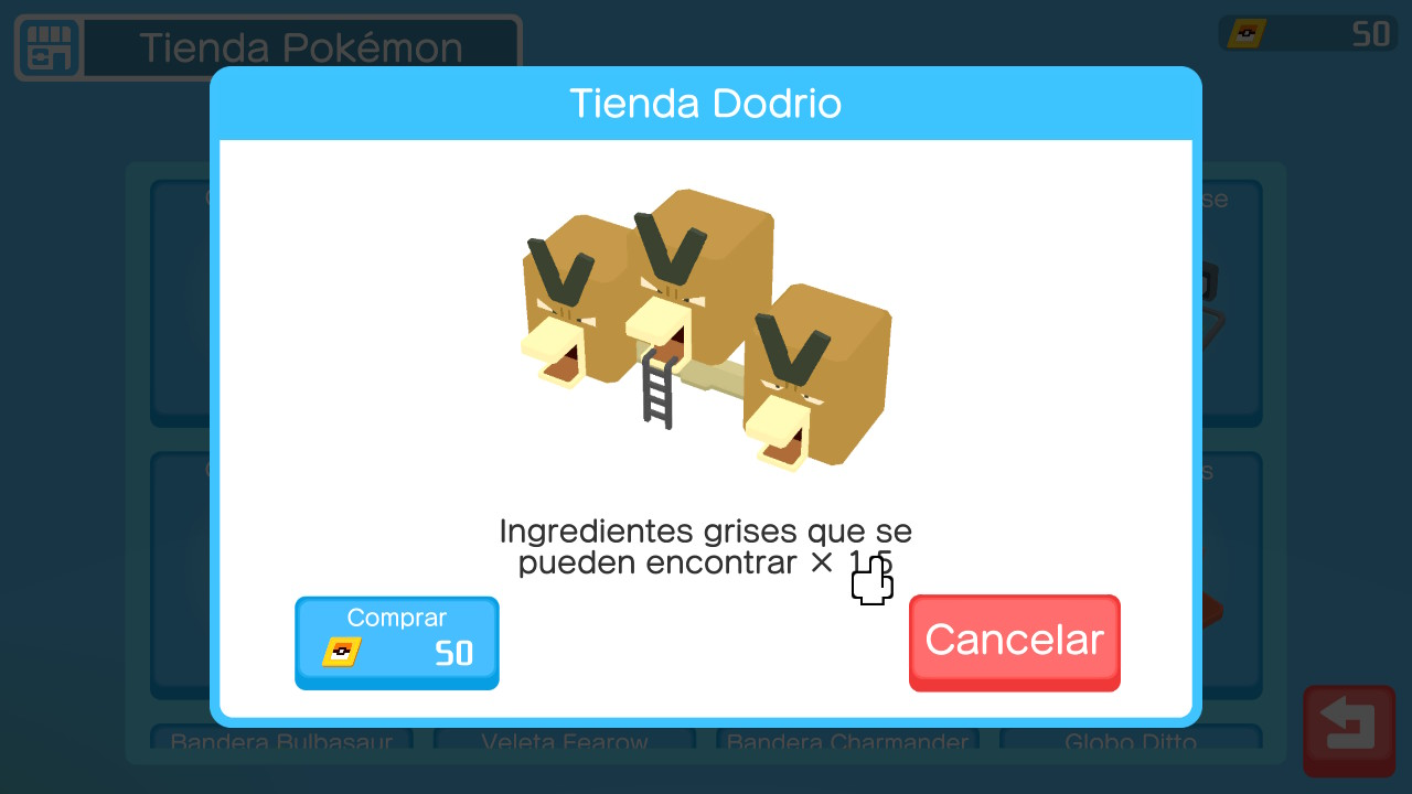 Decoraciones Pokémon Quest
