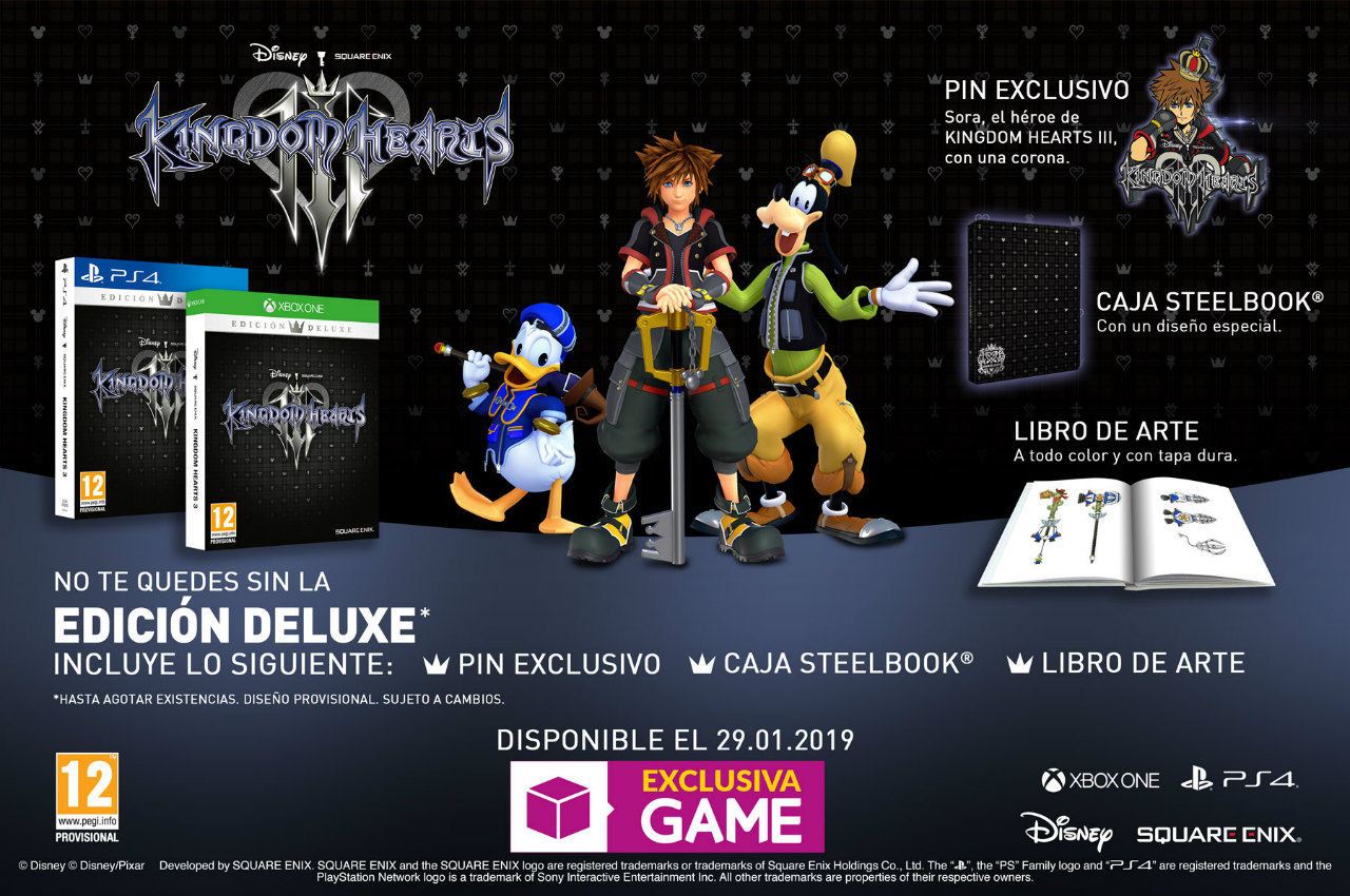 kingdom hearts 3, game,