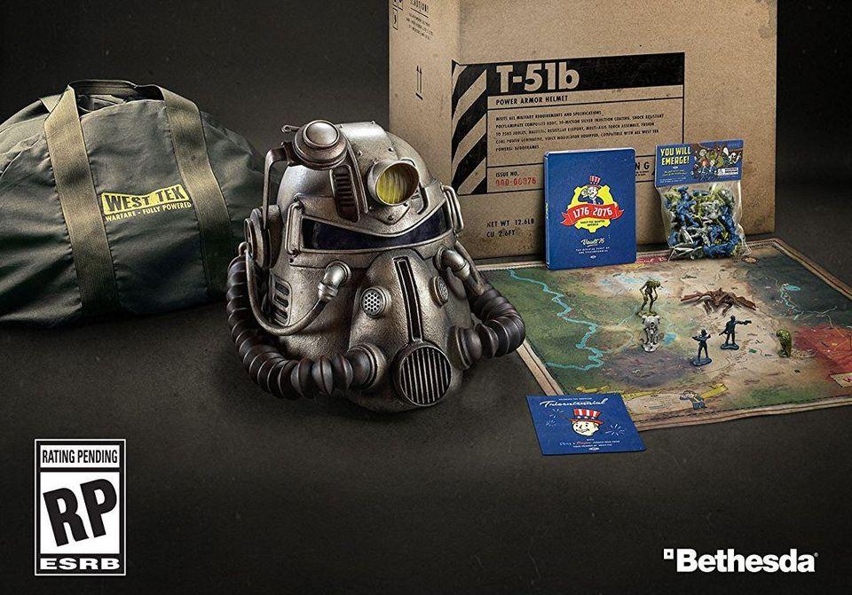 Edición especial de Fallout 76