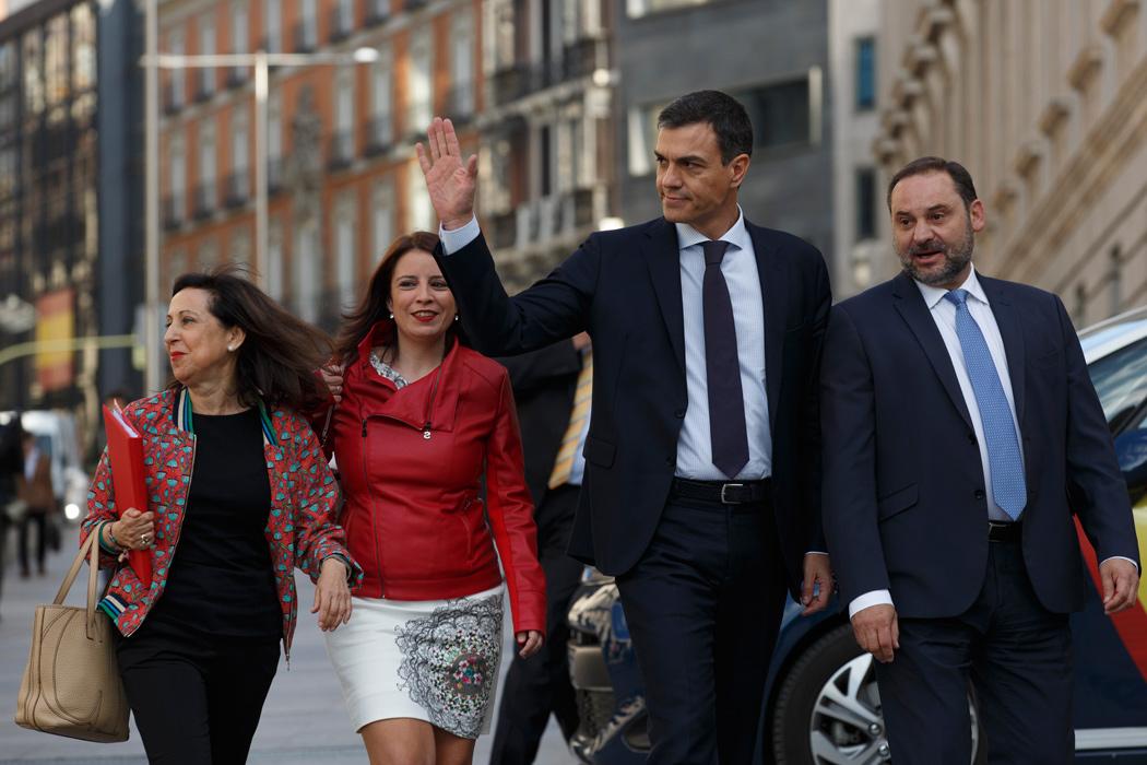 Equipo de Pedro Sánchez