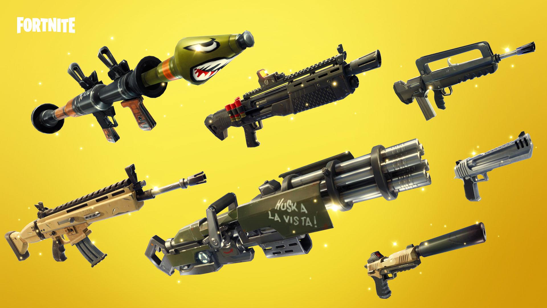 Las Mejores Armas De La Temporada 4 De Fortnite Battle Royale