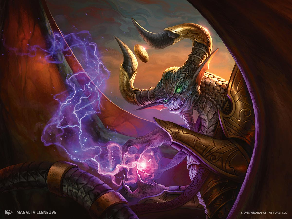 Nicol Bolas - M19 - Magic: The Gathering