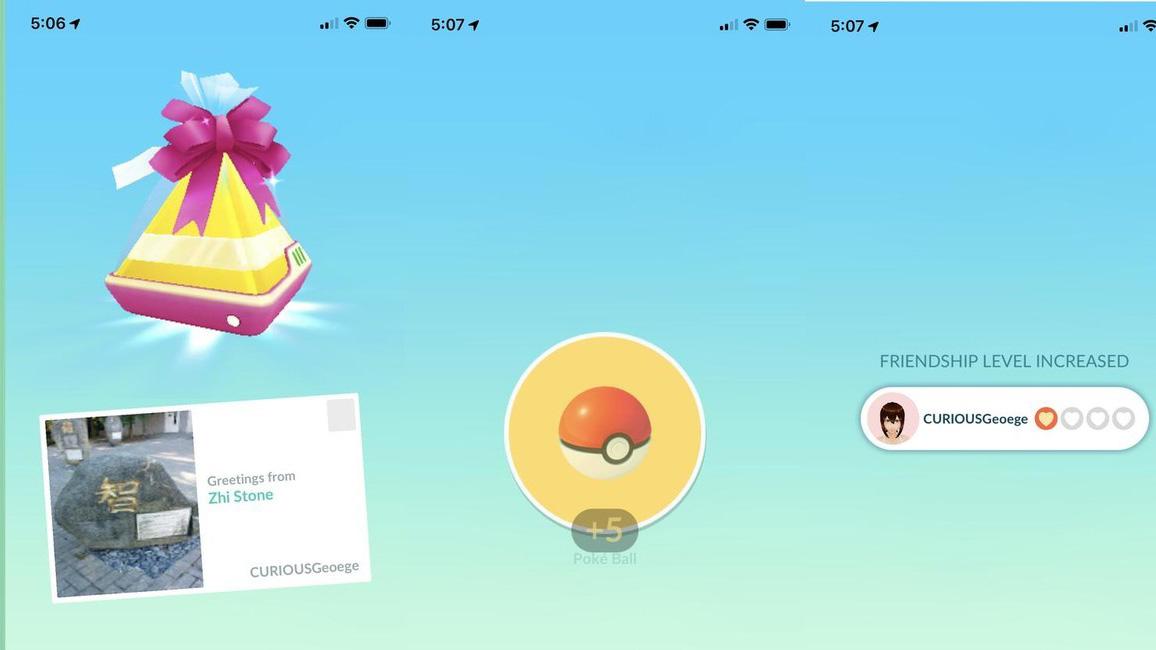 Pokémon GO regalos