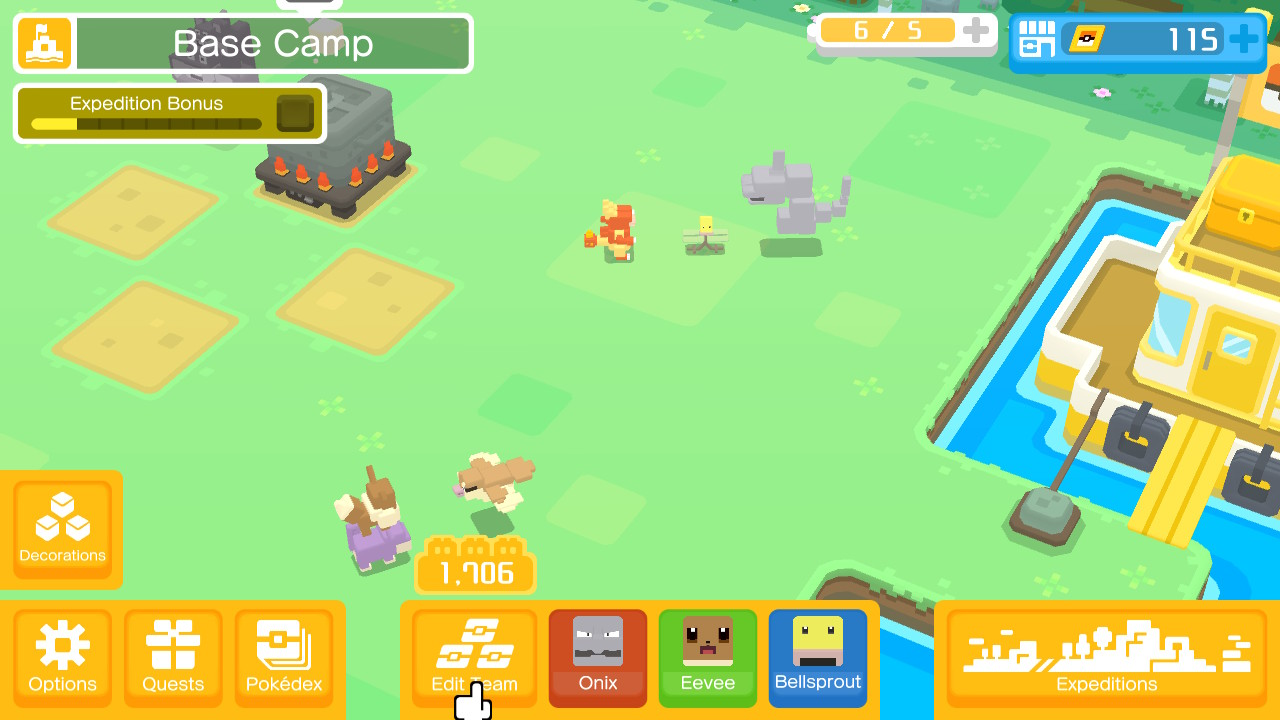 Pokémon Quest Eevee
