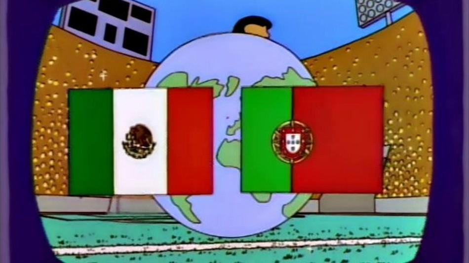 Los Simpson - Predicción Mundial Rusia 2018