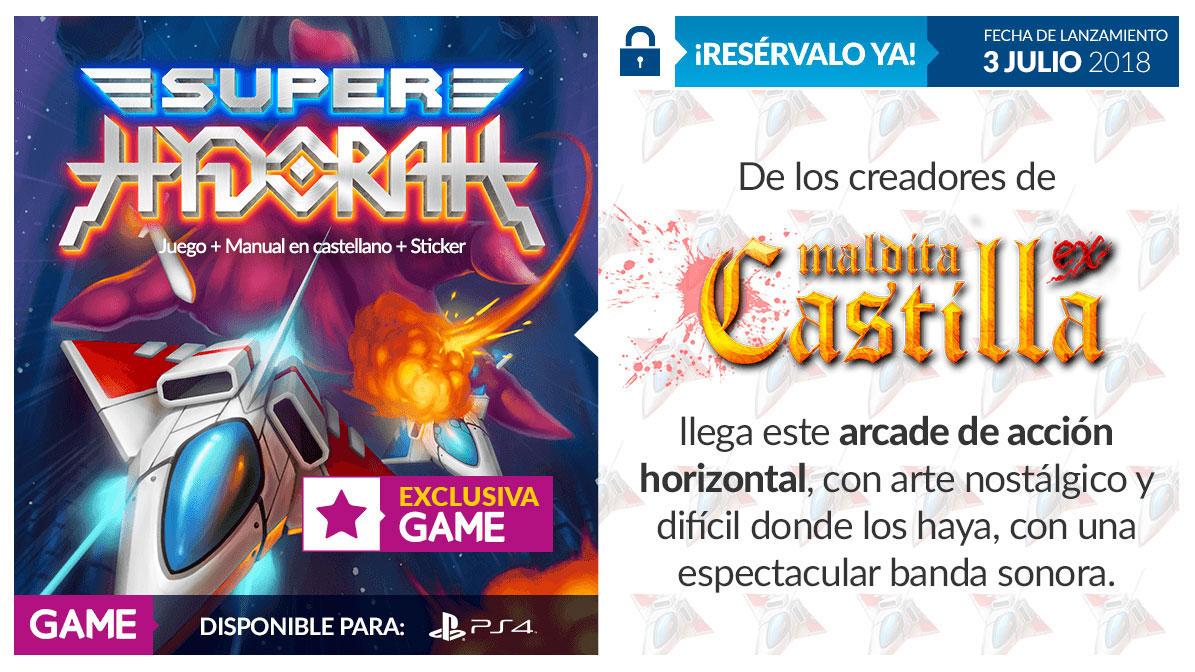 Super Hydorah GAME