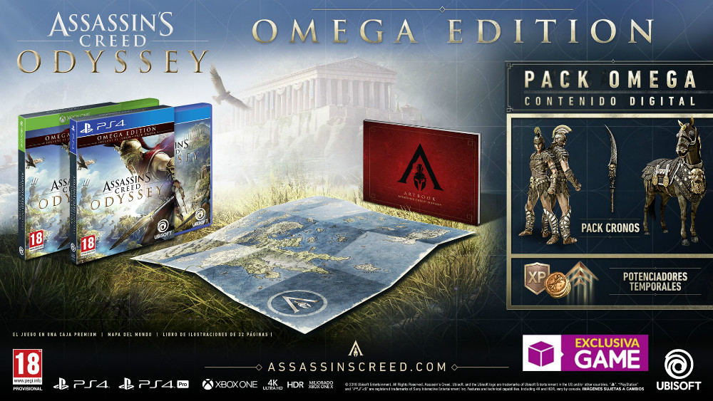 Assassin's Creed Odyssey Omega Edition en GAME