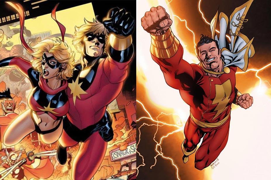 Capitán Marvel y Shazam