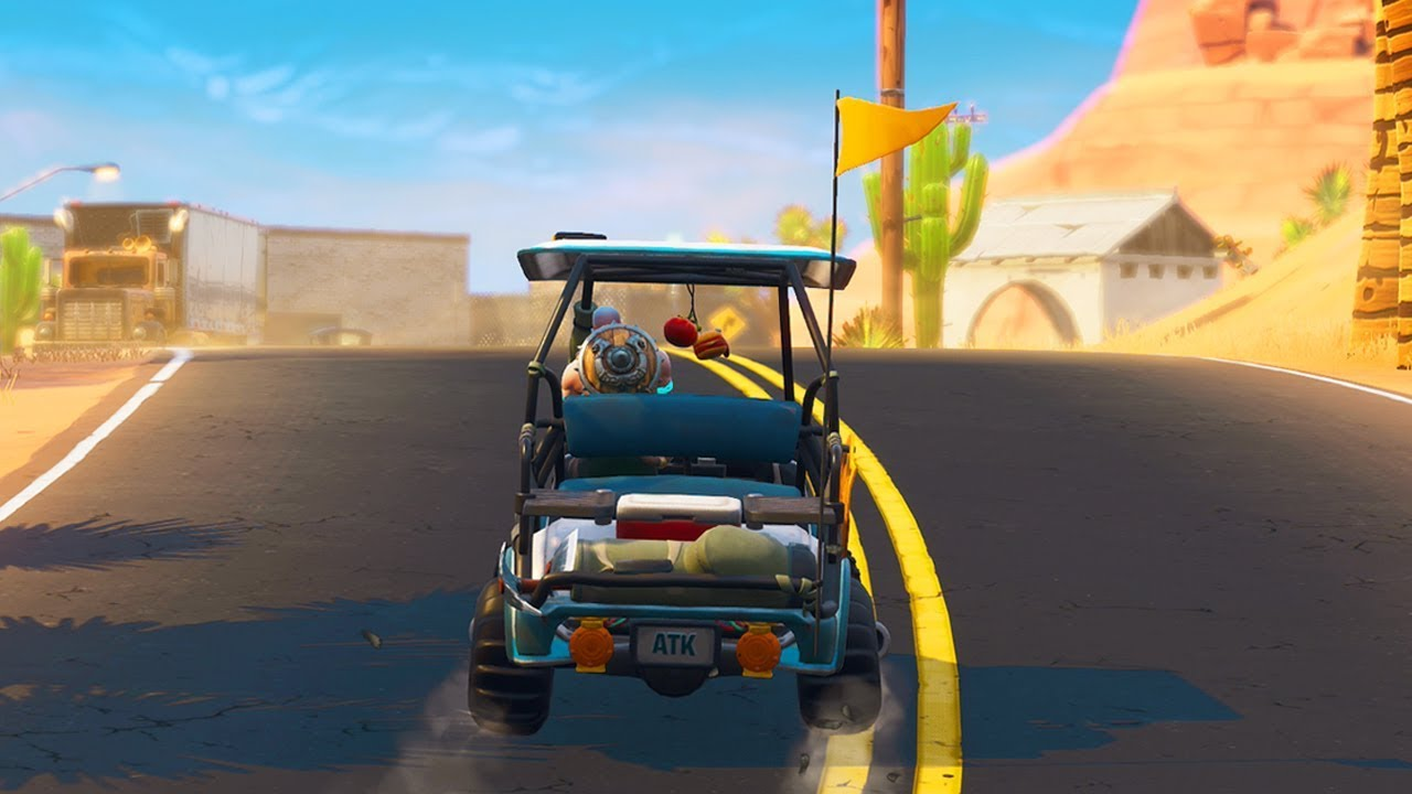 Carritos golf Fortnite