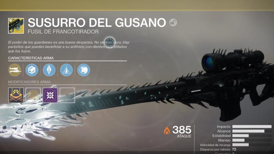 Destiny 2 Susurro