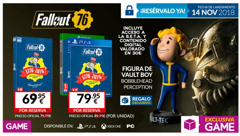 Fallout 76 Tricentennial Edition en GAME