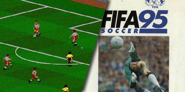 FIFA 95 portada