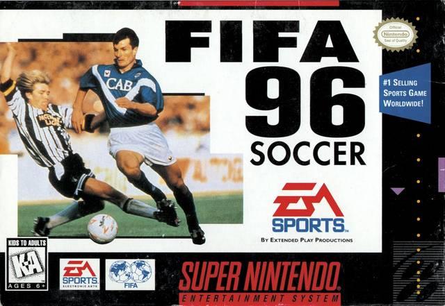 FIFA 96 portada