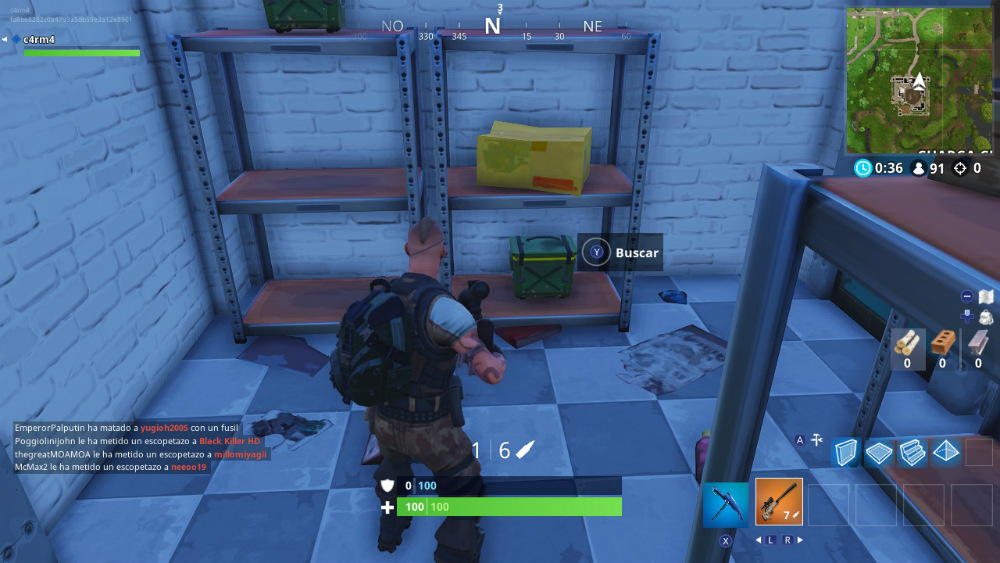 Fortnite Battle Royale - Caja de munición
