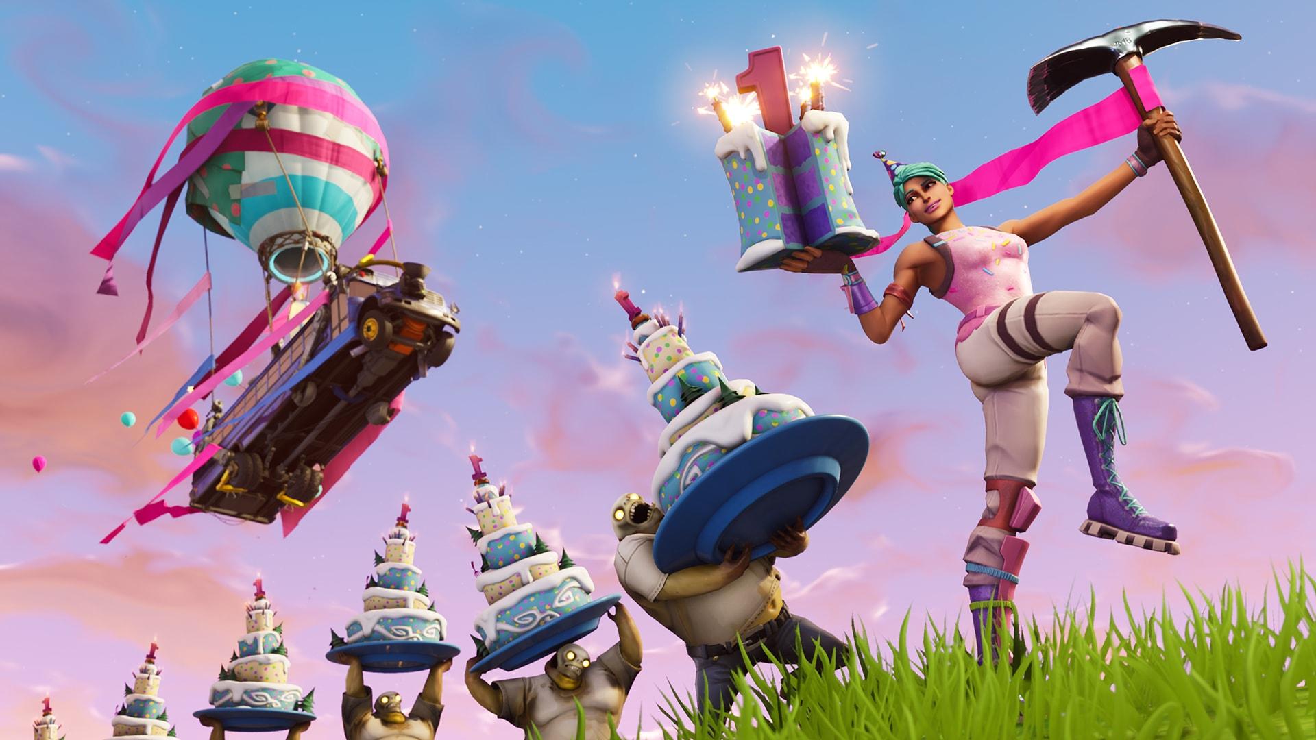 Fortnite Battle Royale Evento de Cumpleaños