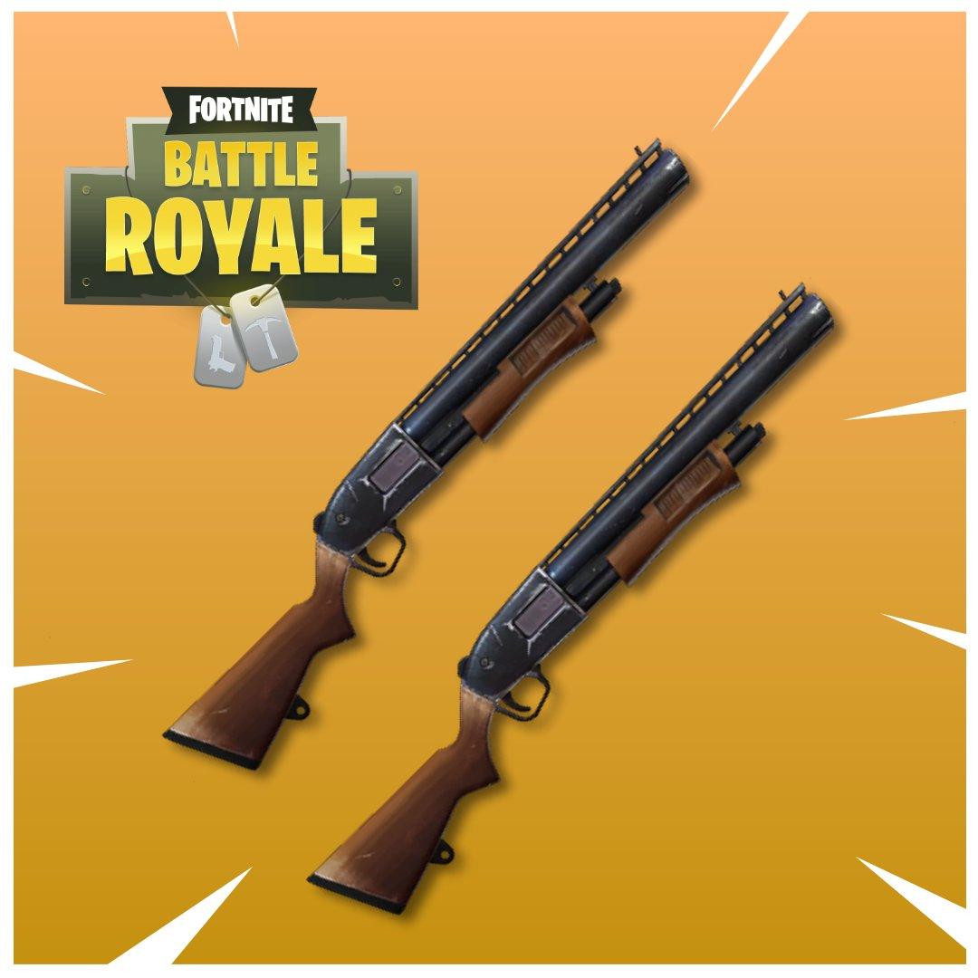 Fortnite escopetas