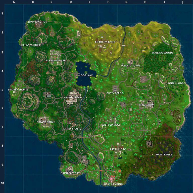 Mapa Fortnite 3