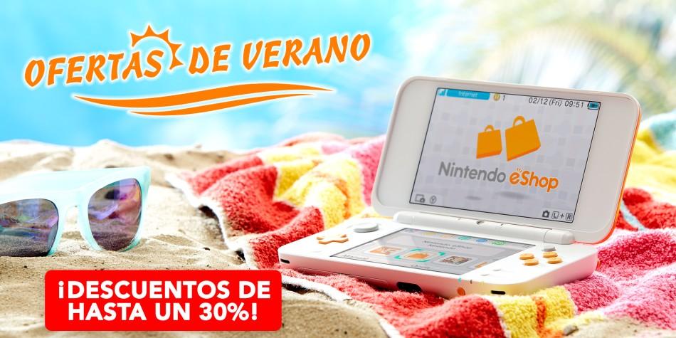 Ofertas de verano eShop Nintendo