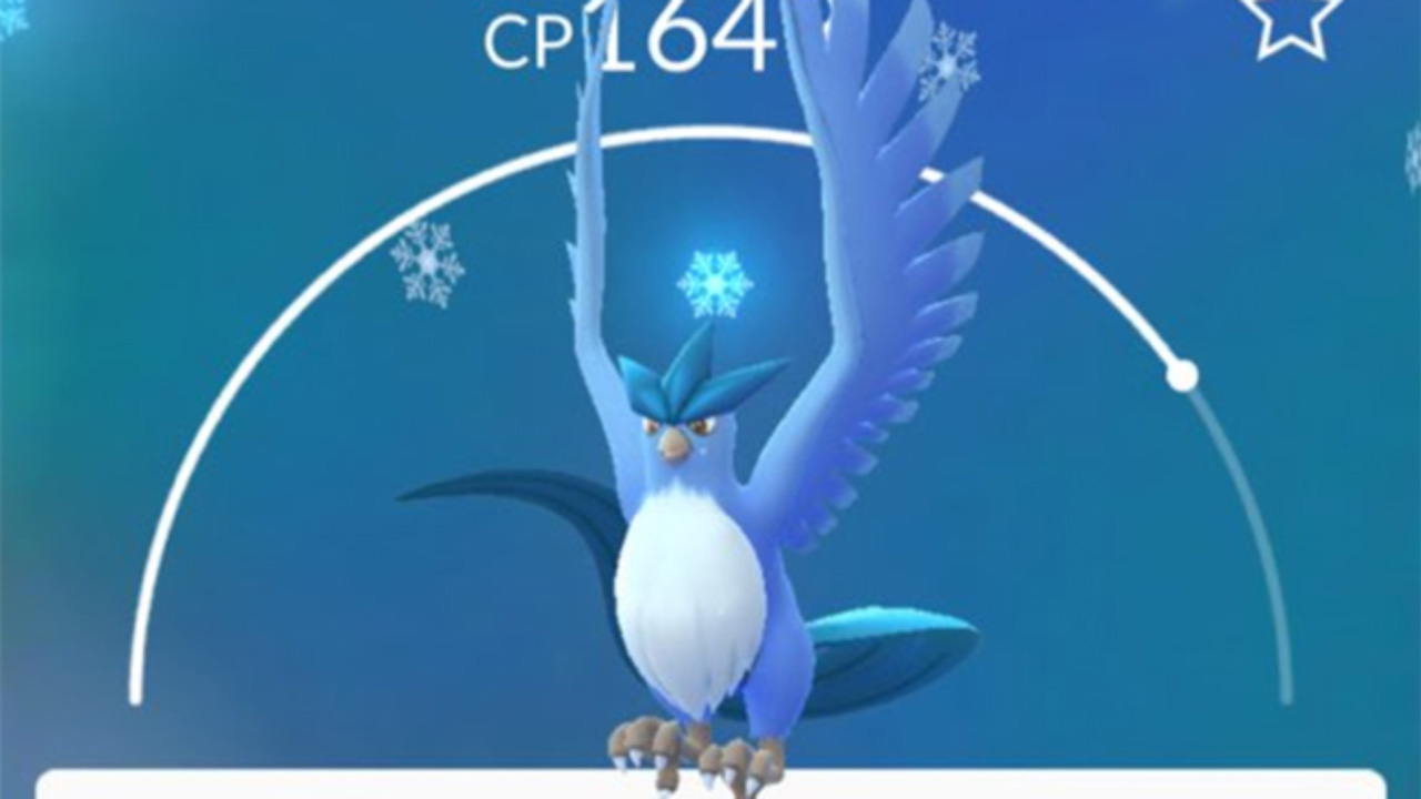 Pokémon Go Articuno