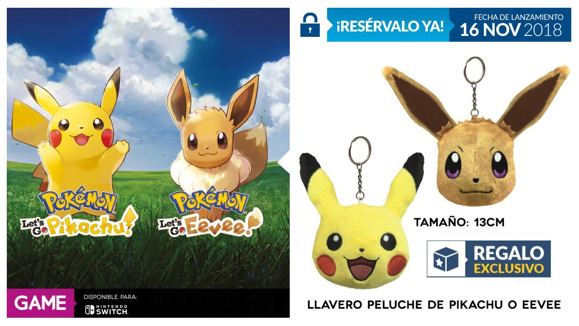 Pokémon Let's GO Pikachu/Eevee en GAME