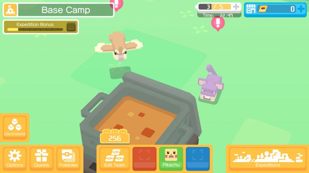 Recetas Pokémon Quest