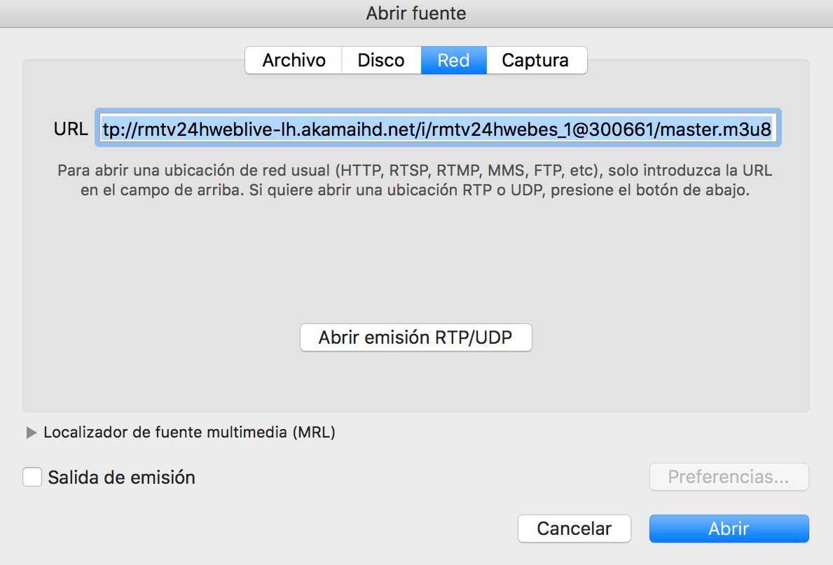 TDT en VLC