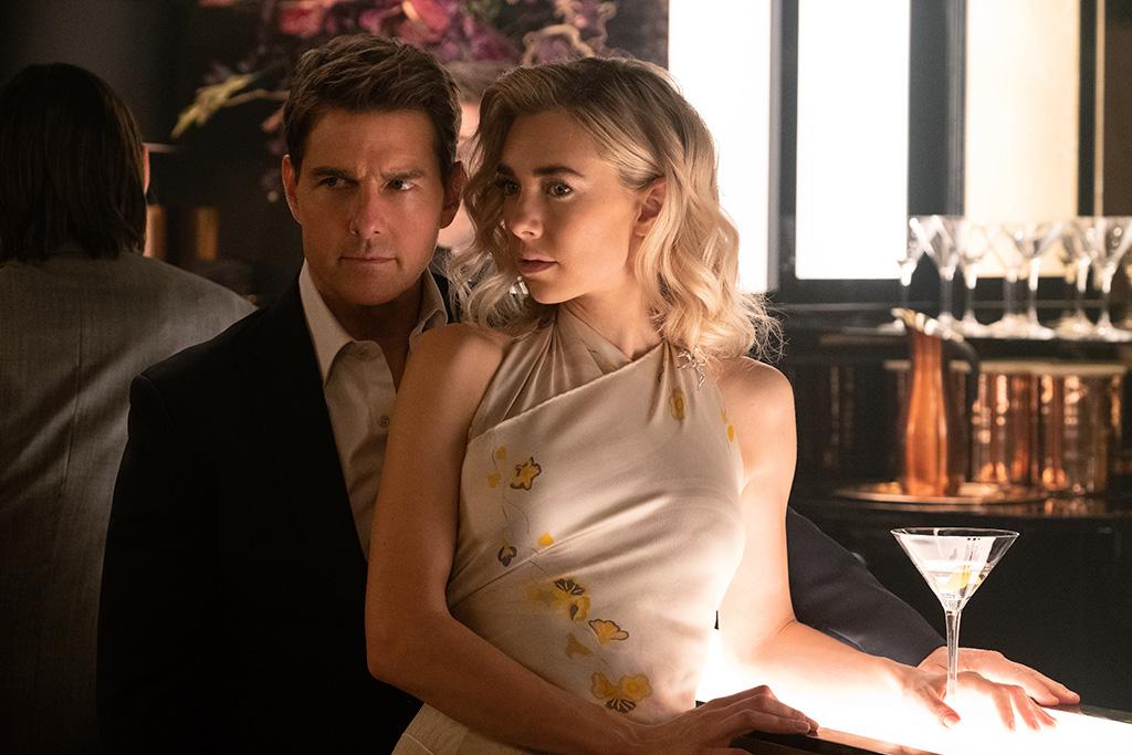 Tom Cruise y Vanessa Kirby en Misión: Imposible - Fallout