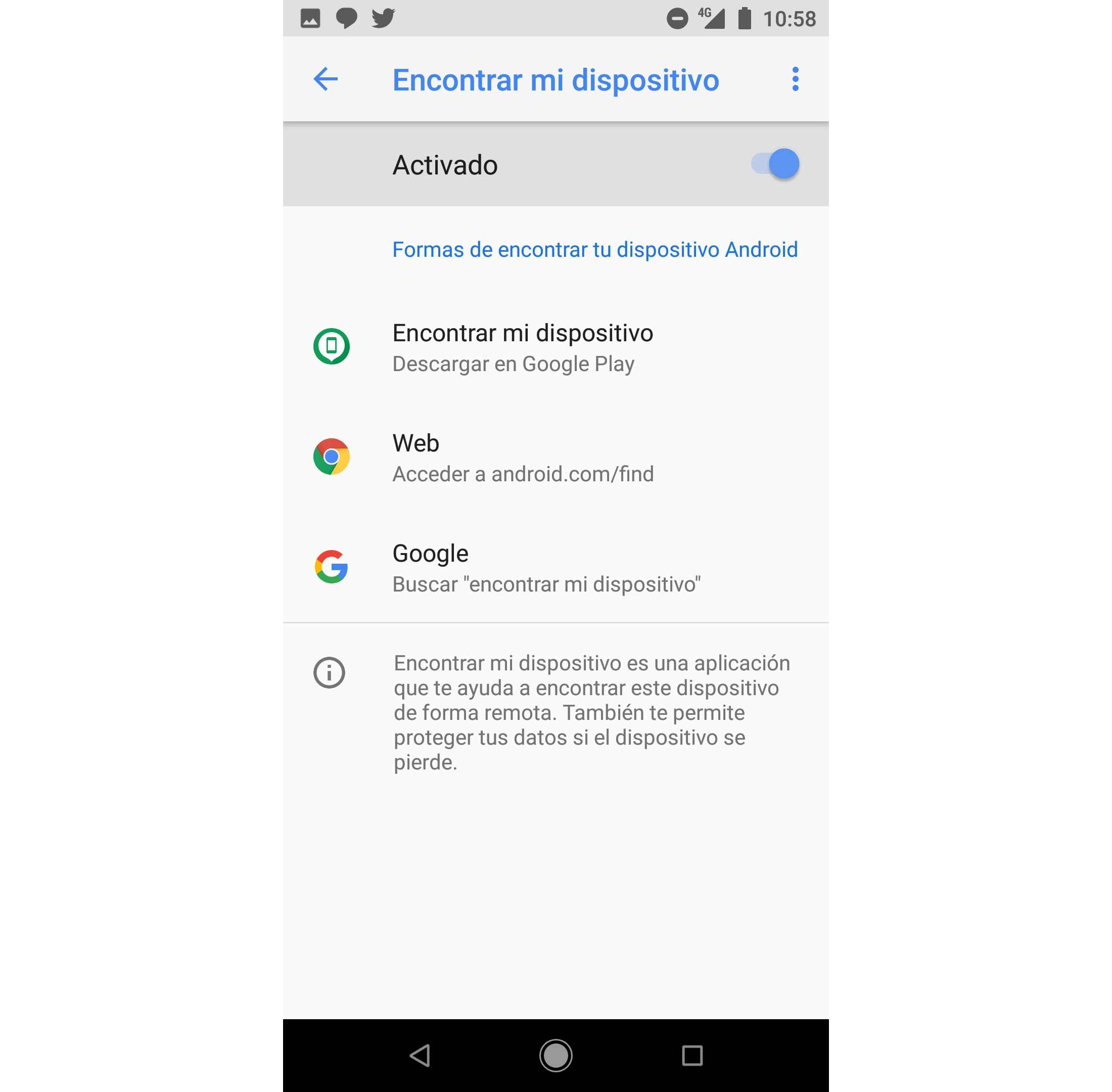 Trucos de Android