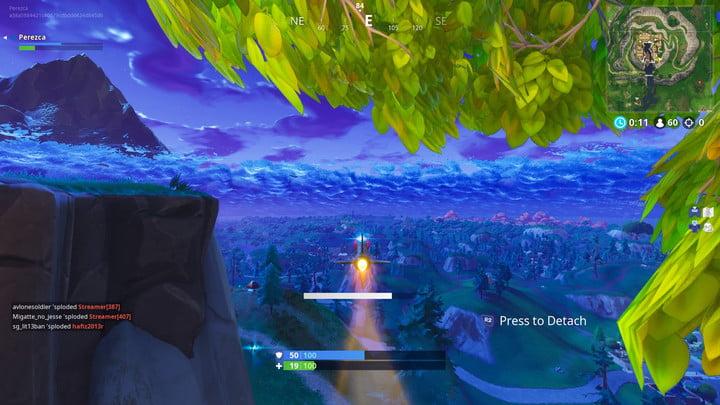 Explosivos Voladores Fortnite