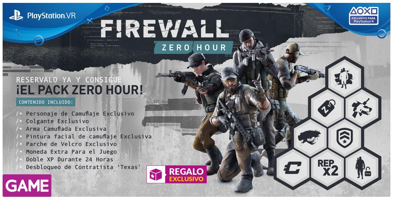 Firewall Zero Hour VR Edición GAME
