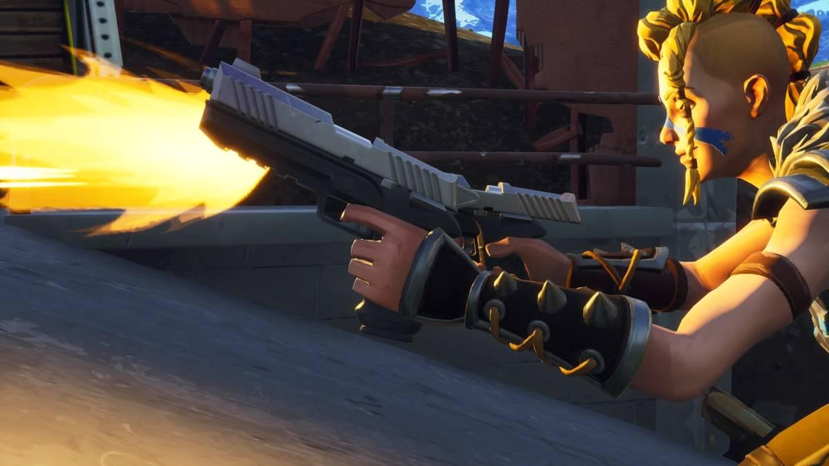 Fortnite Battle Royale - Pistolas Dobles