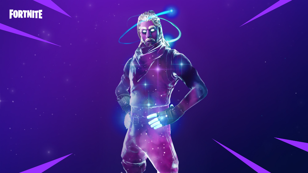 Fortnite Battle Royale - Traje Galaxia