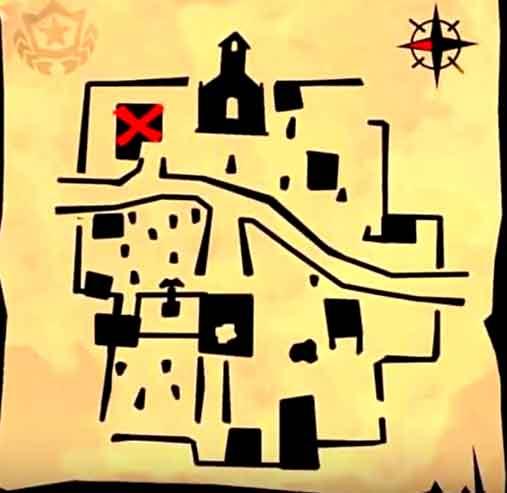 Fortnite mapa tesoro Ribera Repipi