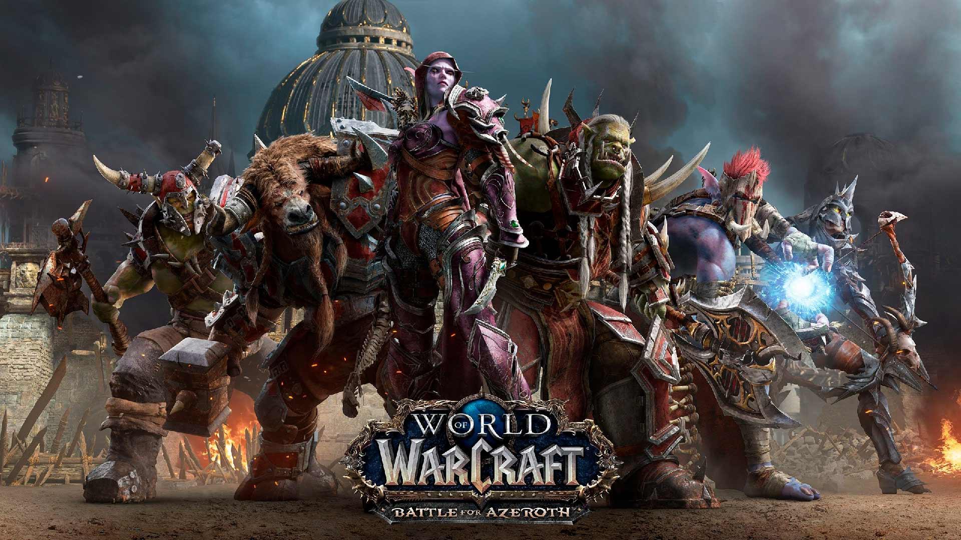 Horda Battle for Azeroth