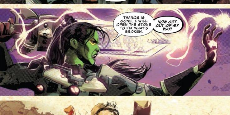 Infinity Wars Prime Gamora