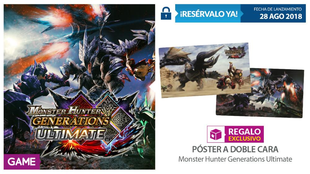 Monster Hunter Generations Ultimate en GAME