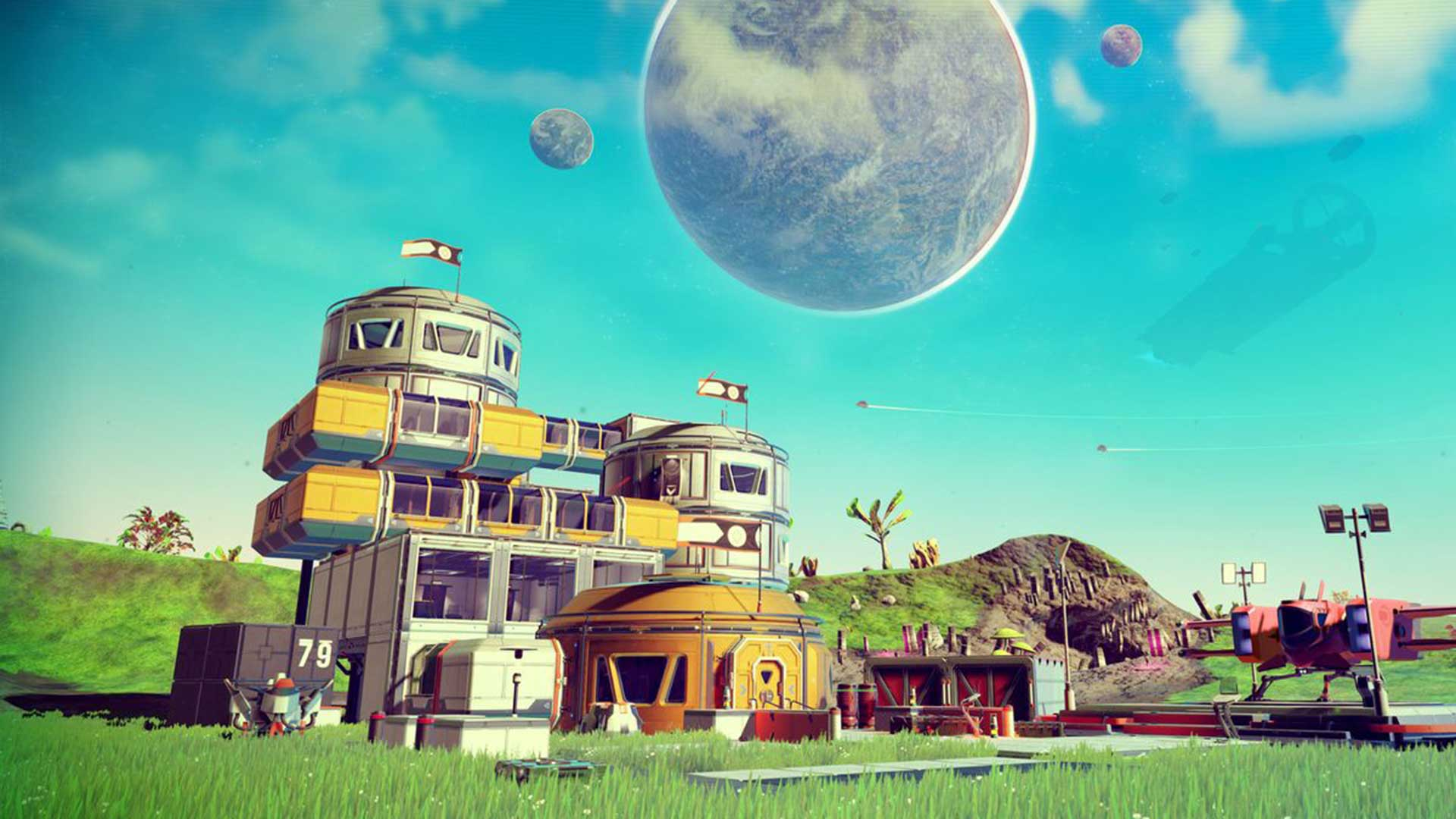 No Man's Sky Next Bases